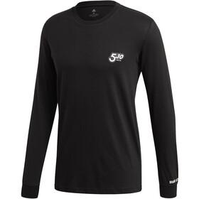 adidas Five Ten 5.10 GFX Maglietta a maniche lunghe Uomo, nero